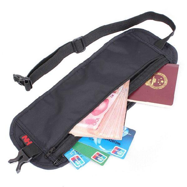 کیف پول و مدارک نیچرهایک مدل Anti-Theft Personal Travel Purse