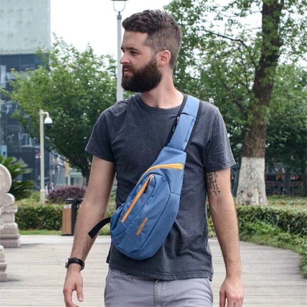 کیف روی سینه نیچرهایک مدل NH Messenger