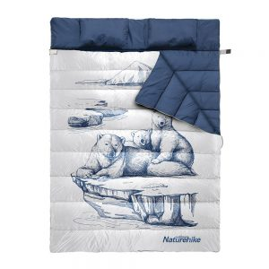 کیسه خواب الیاف نیچرهایک مدل Double Pattern With Pillow
