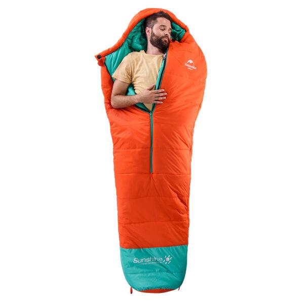 کیسه خواب الیاف نیچرهایک مدل EM 200 Mummy