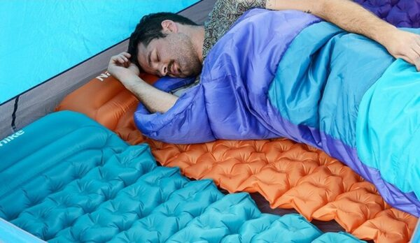 تشک بادی نیچرهایک مدل Ultralight TPU Egg Crate Air With Pillow