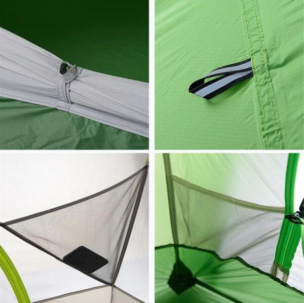 چادر دو نفره نیچرهایک مدل Star-River 2 Ultralight 20D Silicone/skirt