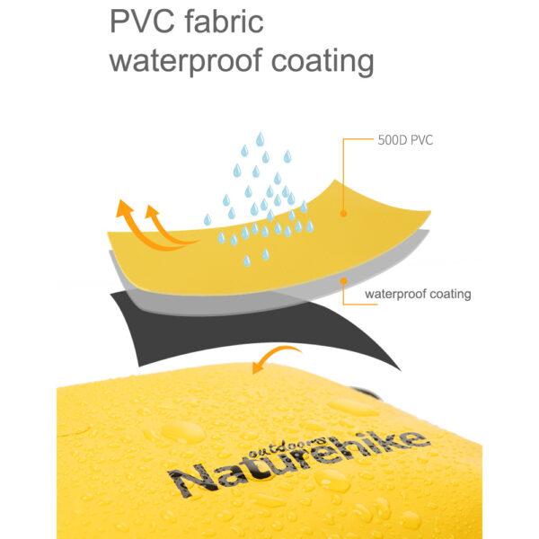 درای بگ نیچرهایک مدل PVC Single Shoulder Diagonal 15L