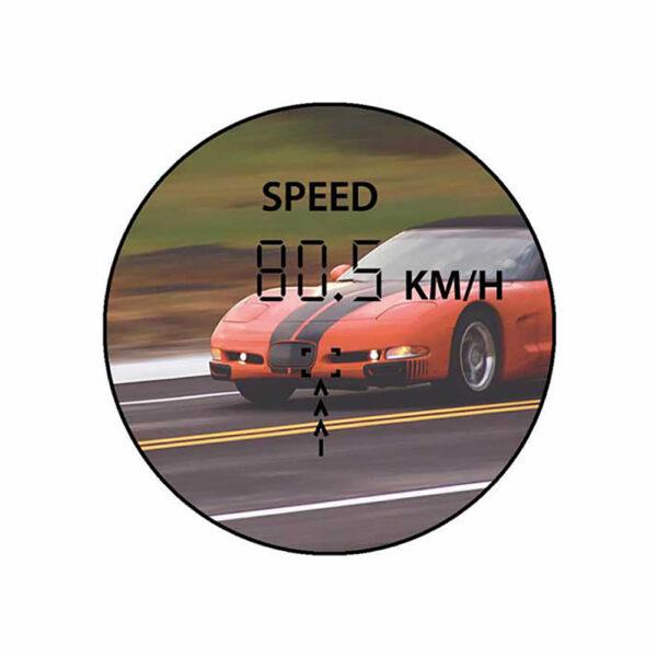 فاصله یاب لیزری برسر مدل Golf 6x25 LRF500