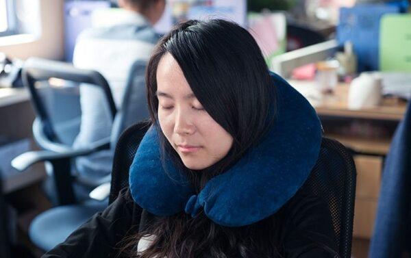 بالش گردن نیچرهایک مدل Memory Foam U-Shaped