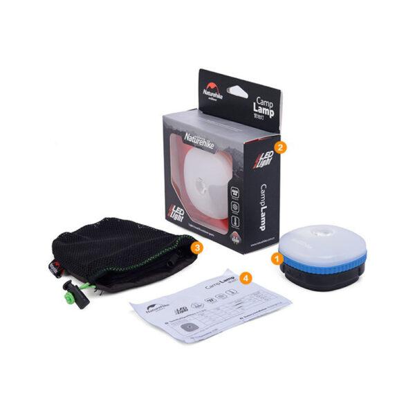 لامپ نیچرهایک مدل 3A-Battery LED USB Charging