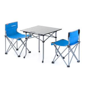 میز و صندلی نیچرهایک مدل Aluminum Alloy Three Sets