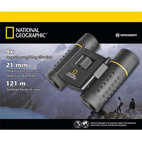 دوربین دو چشمی نشنال جئوگرافیک مدل  8x21 Pocket