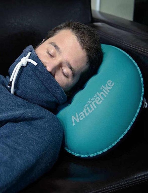 بالش بادی نیچرهایک مدل TPU Aeros Inflatable with New Nozzle