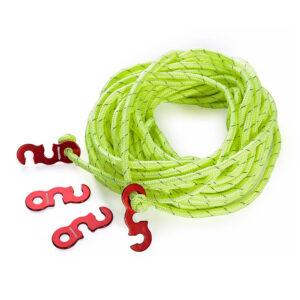 قلاب و طناب چادر نیچرهایک مدل S-Type بسته ۴ عددی