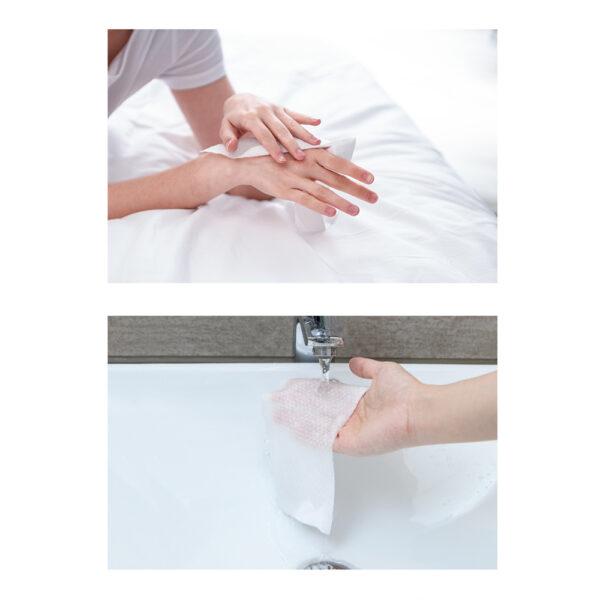 دستمال نخی نیچرهایک بسته ۱۰عددی