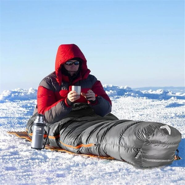 کیسه خواب پر نیچرهایک مدل Mountain Path Mummy Down UL800