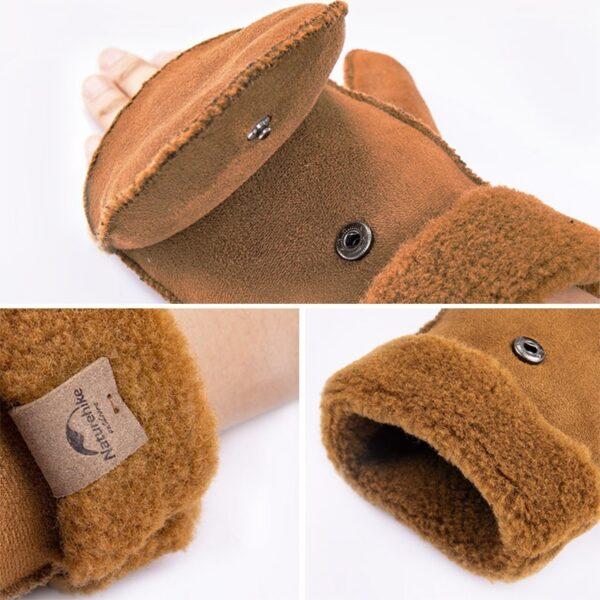 دستکش نیچرهایک مدل GL06 Outdoor Warm Cover Gloves