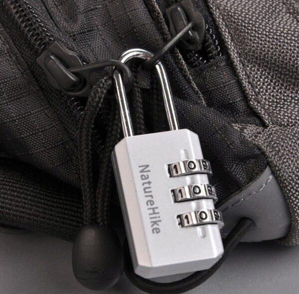 قفل آویز رمزدار نیچرهایک مدل NH02