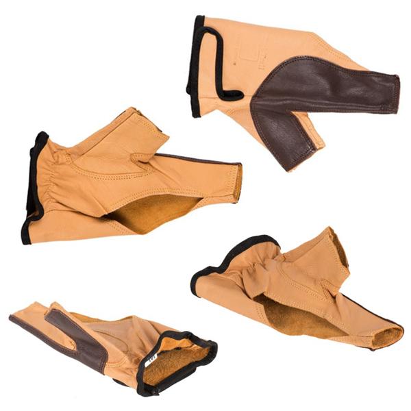 دستکش باکتریل مدل Leather Hand Protection