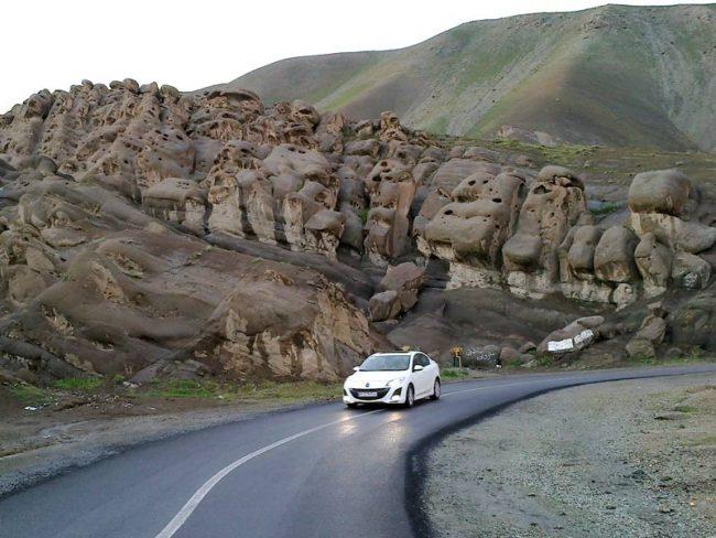 روستای وردیج برای تهران گردی در کرونا