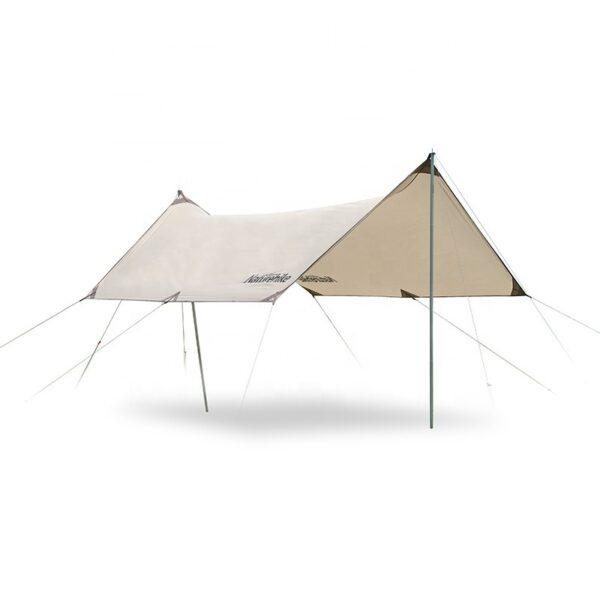 سایه بان نیچرهایک مدل Girder Shelter Tarp Hexagon