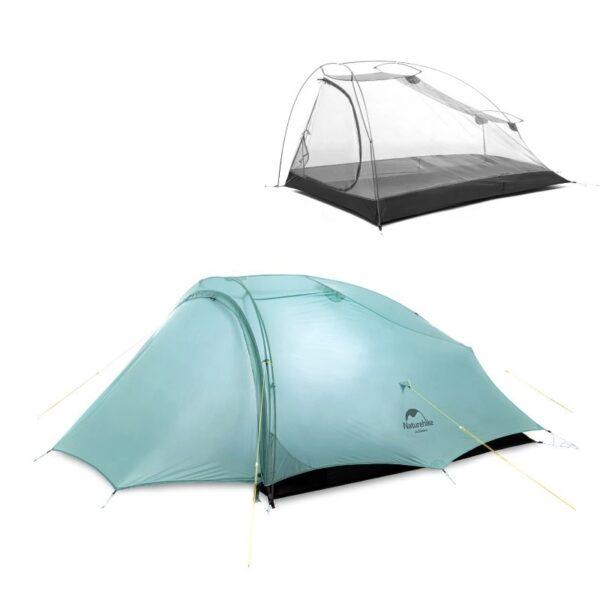 چادر دو نفره نیچرهایک مدل Shared 2 Three Season Tent