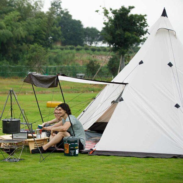 چادر شش نفره نیچرهایک مدل TC 02 Pyramid Tent Larg