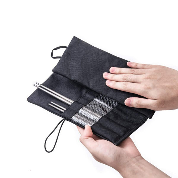 کیف قاشق و چنگال نیچرهایک مدل Portable Tableware Bag