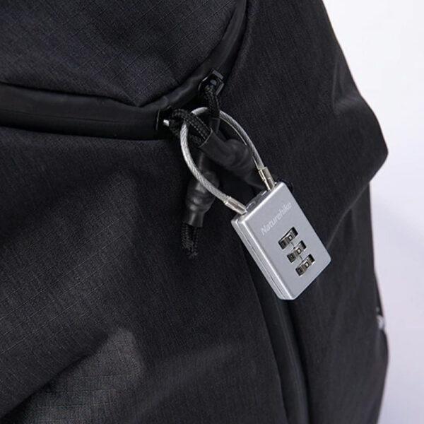 قفل رمزدار نیچرهایک مدل Three Digit Square Wire Password Lock