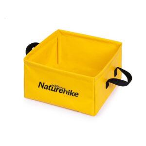 سطل سفری نیچرهایک مدل H030 Foldable Square Bucket
