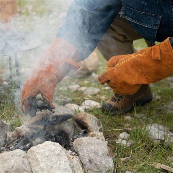 دستکش نیچرهایک مدل GP-02 Flame Retardant Heat Insulation Gloves