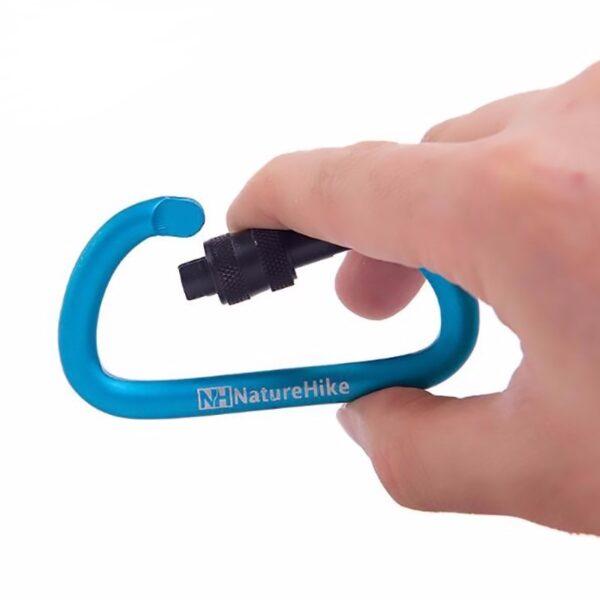 کارابین نیچرهایک مدل D-Utility 8cm With Lock