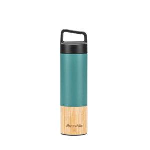 فلاسک نیچرهایک مدل Bamboo Vacuum Flask With Handle
