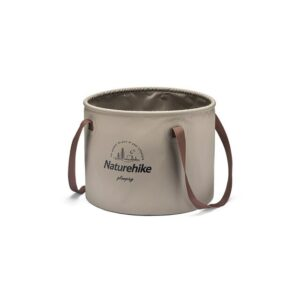 سطل سفری نیچرهایک Foldable Round Bucket