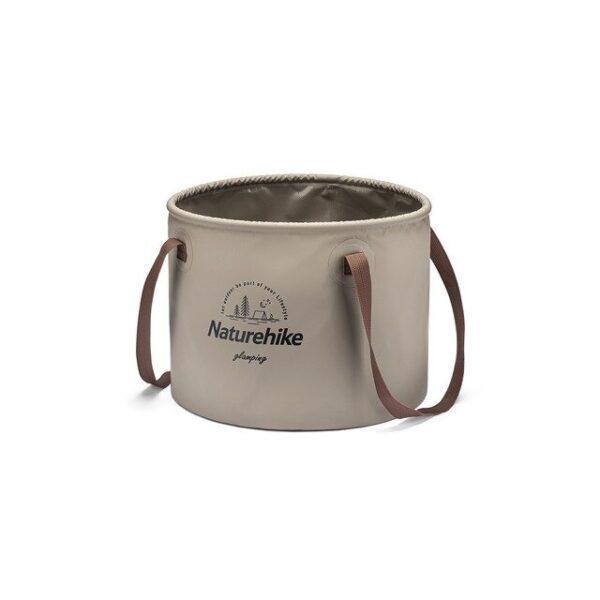 سطل سفری نیچرهایک Foldable Round Bucket