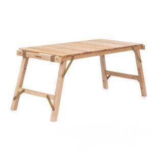 میز نیچرهایک مدل Egg Roll Folding Wooden Table