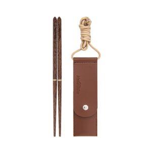 چاپ استیک نیچرهایک مدل Foldable Wood Chopsticks