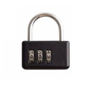 قفل رمزدار نیچرهایک مدل Three Digit Wide Mini Password Lock