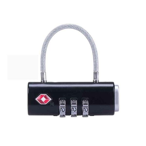 قفل رمزدار نیچرهایک مدل Zinc Alloy Steel Wire Password Lock