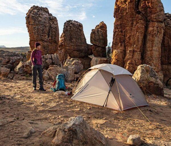 چادر دو نفره نیچرهایک مدل Nebula 2 Ultralight Double Resident Tent