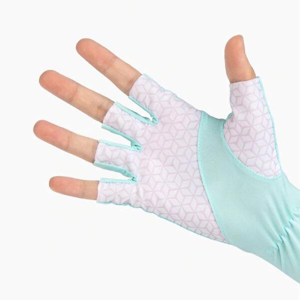 ساق دست نیچرهایک مدل Half Finger Sun Protection Sleeve