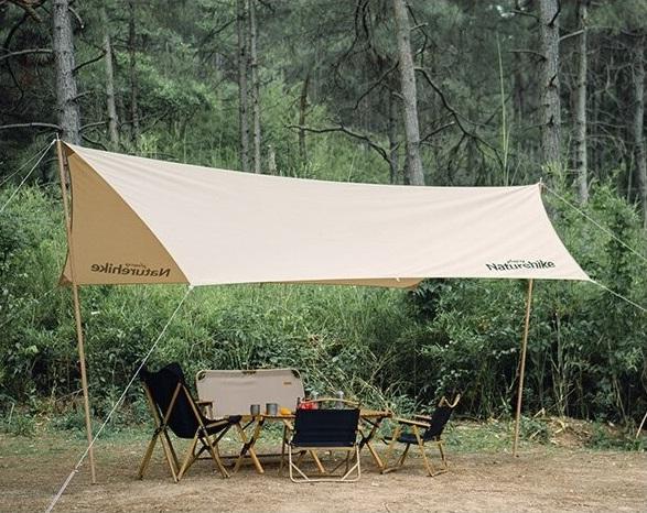 سایه بان نیچرهایک مدل Strerch-Cotton Hexagonal Canopy