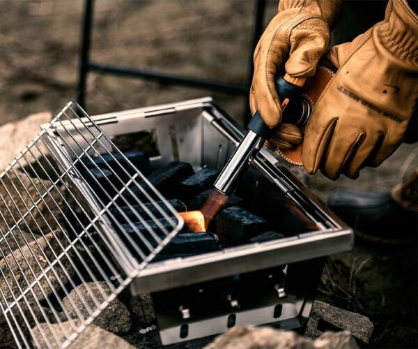 منقل تاشو نیچرهایک مدل Wild Valley Stainless Steel Folding Grill