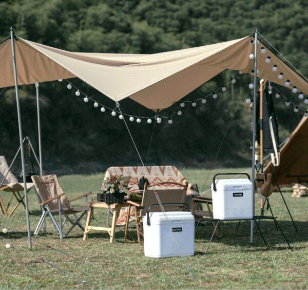 باکس مواد غذایی نیچرهایک مدل  LingDu Camping Vacuum Box 13L