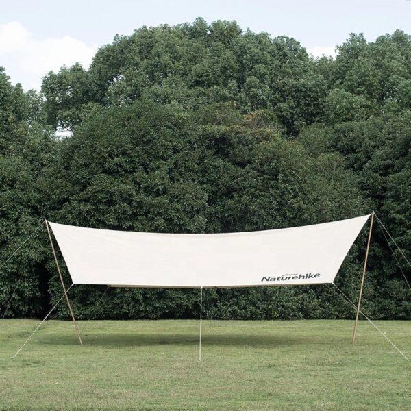 سایه بان نیچرهایک مدل Classy Cotton Large Hexagon Canopy