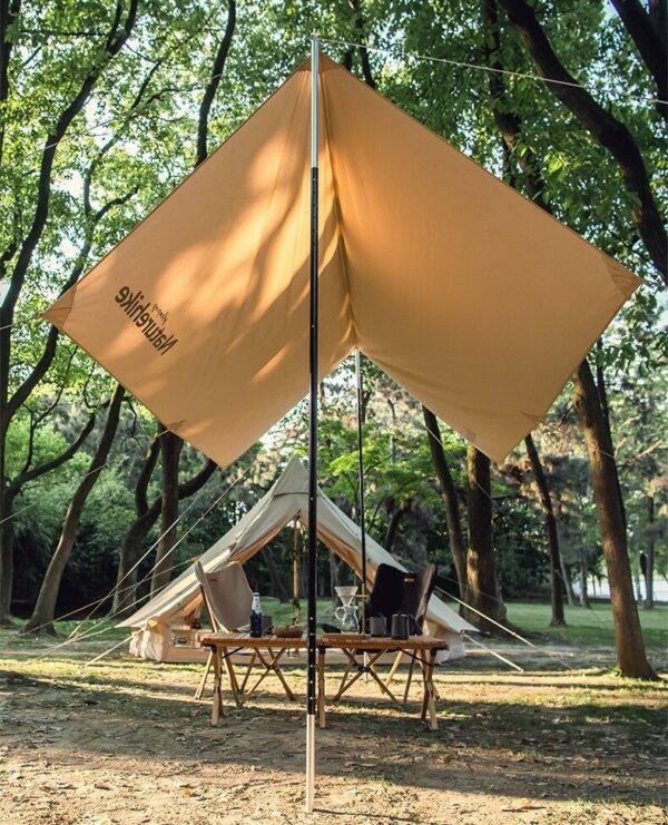 سایه بان نیچرهایک مدل Supple-Cotton Square Canopy