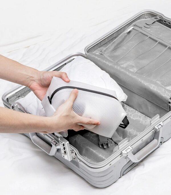 کیف لوازم آرایشی بهداشتی نیچرهایک مدل Q-9A TPU Mesh Toiletry Bag