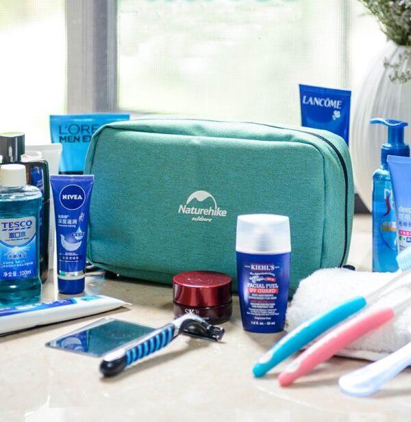 کیف لوازم آرایشی بهداشتی نیچرهایک مدل New Dry and wet Separation Bag