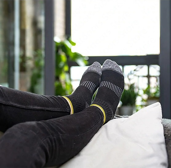 جوراب نیچرهایک مدل Sports Breathable Cotton Running Socks