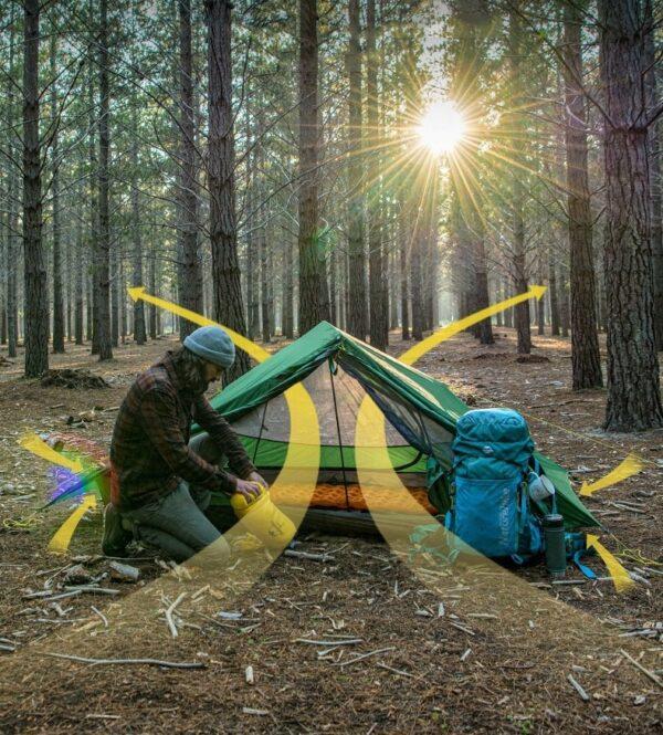چادر دو نفره نیچرهایک مدل Force UL 2 Men Tent