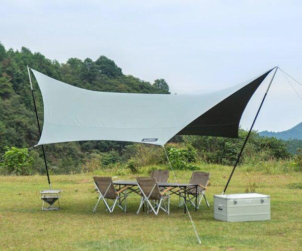 سایه بان نیچرهایک مدل Shark Hexagonal Canopy