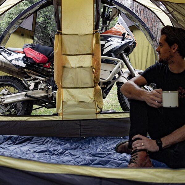 چادر دو نفره نیچرهایک مدل Cloud Travel Motorcycle Two Men Tent