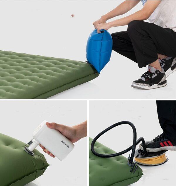 تشک بادی نیچرهایک مدل TPU Thick Double Inflatable Cushion