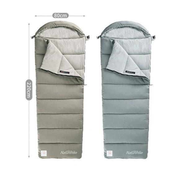 کیسه خواب الیاف نیچرهایک مدل M Series Envelope Style M400